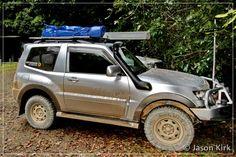 pajero swb accessories - Google Search Pajero Full, Customised Vans, Montero Sport, Mitsubishi Pajero, Cars And Motorcycles, Offroad, 4x4, Trucks, Rigs