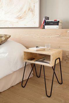 1000 images about future chambre parent on pinterest for Mini table de chevet