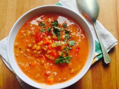 Meatless Monday, Soup And Salad, Bon Appetit, Paleo, Food And Drink, Healthy Eating, Sweets, Diet, Meals
