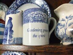 Mug.  Gardening grows the spirit
