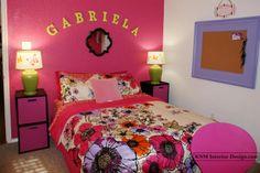 fun girls rooms | Found on knminteriordesign.com