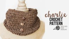 Crochet Cowl Pattern - The Charlie by Rescued Paw Designs || Free Crochet Cowl Pattern