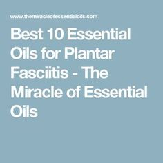 Did you know that many people are successfully using essential oils for plantar fasciitis, heel spur, foot arthritis and more? Find out the best natural and essential oil techniques to use to restore your feet. Essential Oils For Pain, Essential Oil Uses, Doterra Essential Oils, Yl Oils, Plantar Fasciitis Remedies, Plantar Fasciitis Treatment, Rheumatoid Arthritis Treatment, Homeopathic Remedies, Natural Remedies