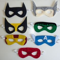 DIY Superhero Party .. thinking we'll do a superhero theme for Aidens 2nd birthday!