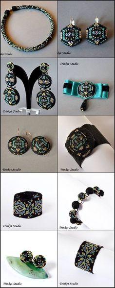 #PUK, #Mab, #Miranda , #Earrings, #necklace, #bracelet , #TrinketStudio…