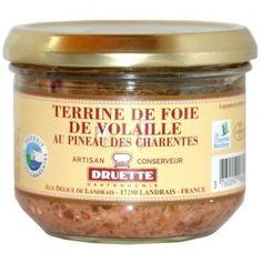 Terrine de foie de volaille au Pineau 180 gr - parfumée au pineau - 3.47€