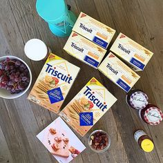 Prep time for our DIY craft party with @britandco and @triscuit. #madeformore #iamcreative