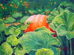 """""""Red Planet"""". #Thanksgiving season. Oil painting by Dusan Balara"""
