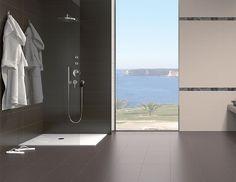 M s de 1000 ideas sobre cuartos de ba o de azulejos de - Azulejos y suelos para banos ...