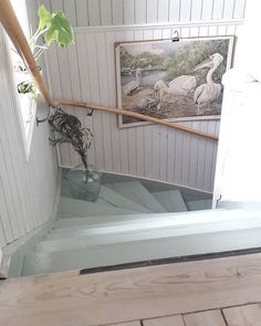 Cottage Stairs, House Stairs, Small Attic Room, Attic Rooms, Diy Interior, Interior And Exterior, Sweet Home, Cosy Room, Stairs Architecture