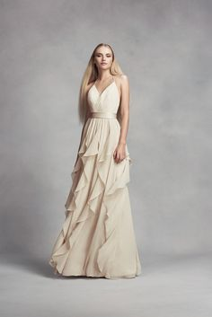 A bridesmaid dress y
