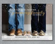 Christmas pregnancy announcement card, Holiday Card, the best gifts don't come under the tree, gender reveal, PRINTABLE or PRINTED CARD holiday card christmas card pregnancy by SimplyModernDesignx Christmas Card Pregnancy Announcement, Pregnancy Announcement Photos, Pregnancy Photos, Maternity Christmas Card, Baby Announcements, Modern Christmas Cards, Holiday Cards, Future Baby, Baby Love