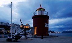 Hotel Brosundet, Norveçli Fiyordları'ndaki arasında muhteşem bir otel