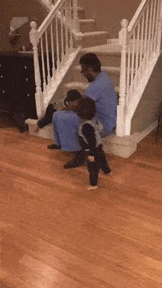 Trying to get up the stairs