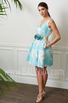 d7744aee7 Vestido corto para boda 2017 Baunda 1713 en Madrid y tienda online