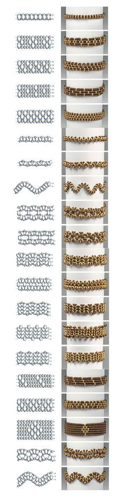 Preciosa Projects - Twin Bracelets Easy and Simple Pattern featured in…