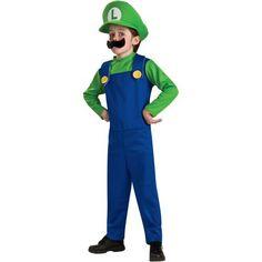 Luigi Toddler/Child Boy Costume