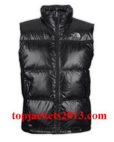 The North Face Outlet Mens Summit Series Down Vest Black