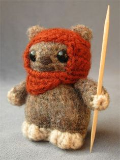 Star Wars Amigurumi Pattern - Ewok- not available right now