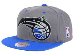 Orlando Magic Mitchell and Ness NBA Under Over Snapback Cap