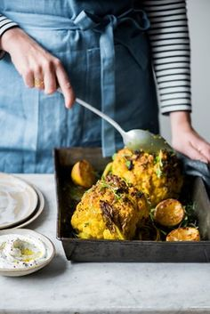 Anna Jones' recipes for whole roast squash and baked cauliflower | The modern cook | Life and style | The Guardian