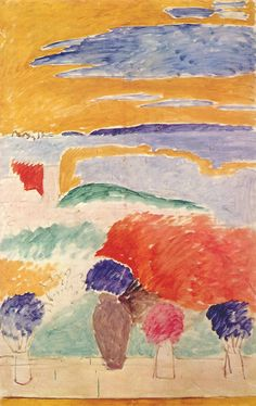 Matisse - Open Window at Tangier 1913