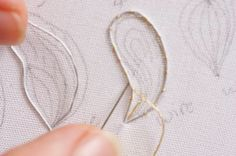 Brazilian Embroidery Tutorial How to make stumpwork shapes Silk Ribbon Embroidery, Beaded Embroidery, Cross Stitch Embroidery, Hand Embroidery, Embroidery Stitches Tutorial, Embroidery Techniques, Embroidery Patterns, Crazy Quilting, Brazilian Embroidery