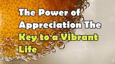 Abraham Hicks The Power of Appreciation The Key to a Vibrant Life. #AbrahamHicks #LawOfAttraction #LOA