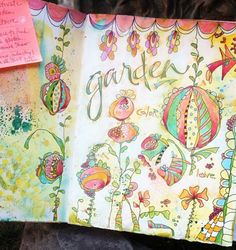 Inspiration for Pam Garrison's Creative Sketchbook class ... page by Pam Keravuori (@pamkeravuori)  - #shareyoursketch