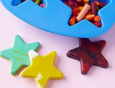 Time to make something new out of all the broken crayons this summer. Summer Crafts for Kids | Home Made Simple