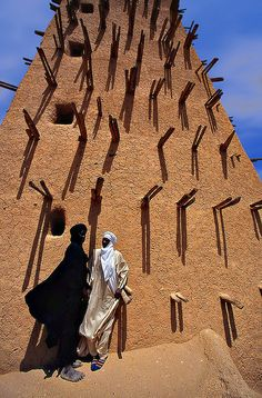 Niger - Agadez Mosque