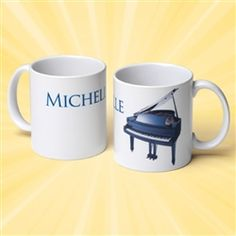 Customized mug for your musical star