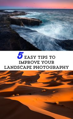 5 simple ways to improve your landscape photos >> Love these tips by photographer Ian Plant #PinUpLive