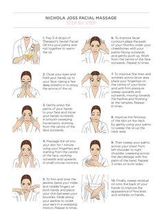 Reduce wrinkles with simple facial massage / Massagem facial para reduzir rugas