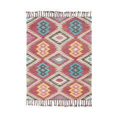 LEF collections Vloerkleed Outdoor Aylen multicolour textiel in 3 maten