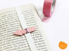 DIY an arrow bookmark—and point to a line of poetry that reminds you of them. | 31 DIY Valentine's Gifts That Will Make Them Love You Even More