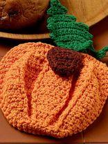 Pumpkin Potholder