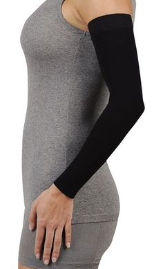 Juzo Soft 2001CG Armsleeve 20-30mmHg with Silicone Band - Dreamsleeve