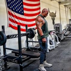 Dwayne 'The Rock' Johnson's Insane Home Gym and Traveling Iron Paradise The Rock Dwayne Johnson, Dwayne The Rock, Rock Johnson, My Rock, Bodybuilding Motivation Quotes, Bodybuilding Workouts, Bodybuilding Training, Home Gym Garage, At Home Gym