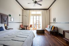 Ace Hotel Panama - love those doors and the high ceilings.