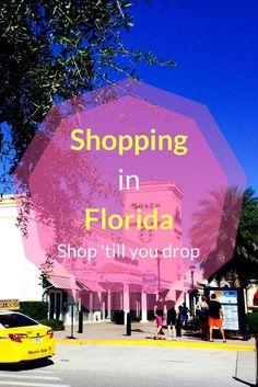 Shopping in Florida – Shop till you drop – Travel Destinations Florida Keys, Naples Florida, Florida Vacation, Florida Travel, Travel Usa, Tampa Florida, Travel Tips, Medan, New Hampshire