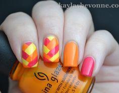Summer nails! ❤️