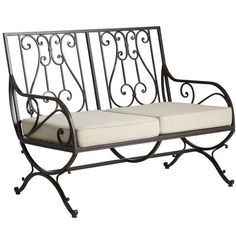 59 Ideas for metal patio furniture wrought iron garden gates Classic Dining Room Furniture, Metal Patio Furniture, Balcony Furniture, Iron Furniture, Steel Furniture, Garden Furniture, Wrought Iron Garden Gates, Wrought Iron Chairs, Wrought Iron Decor