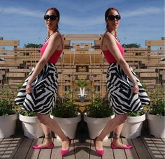 I landed my new job in this outfit!!! @expresslife skirt, @ninewestcanada shoes. Gett all the style details!: http://www.thepurplescarf.ca/2014/07/fashion-style-zebra-print-lady.html #fashion #style #styletips #thepurplescarf #melanieps