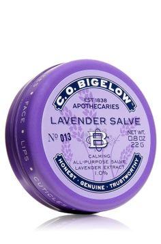 Lavender Salve - C.O. Bigelow - Bath & Body Works