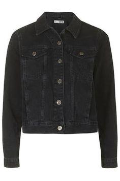 MOTO Washed Black Western Jacket
