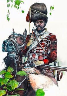 Varazdiner hussar, Seven Years War