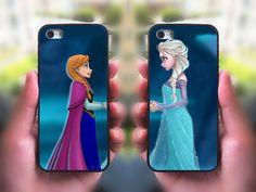 iPhone 5C case,Frozen ,Elsa and Anna,Best Friends,Sisters forever,iphone 5S case,iphone 5 case,iphone 4 case,ipod 4 case,ipod 5 case on Etsy, $28.98