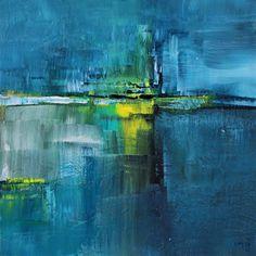 umj.art - Ulla Maria Johanson: 2018-01-30 #1177SerenityAcrylic on board, 15x15 ...