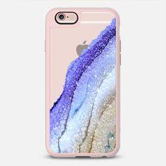 FLAWLESS BLUE SKY & FAUX GOLD by Monika Strigel iPhone 6 case by Monika Strigel | Casetify